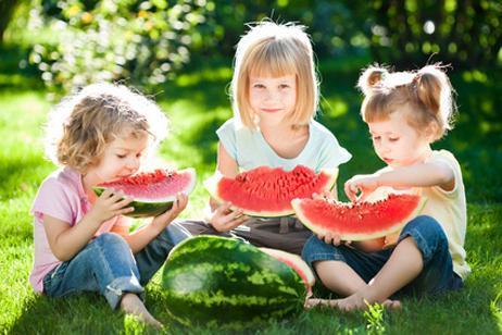 frutas y verano